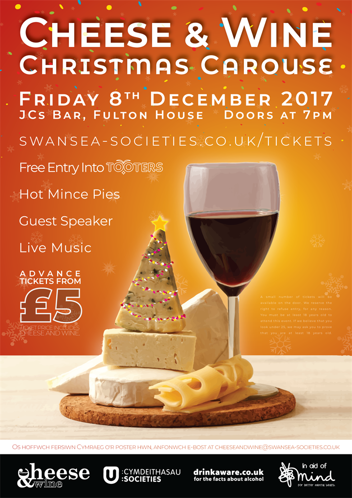Cheese & Wine — Christmas Carouse ??