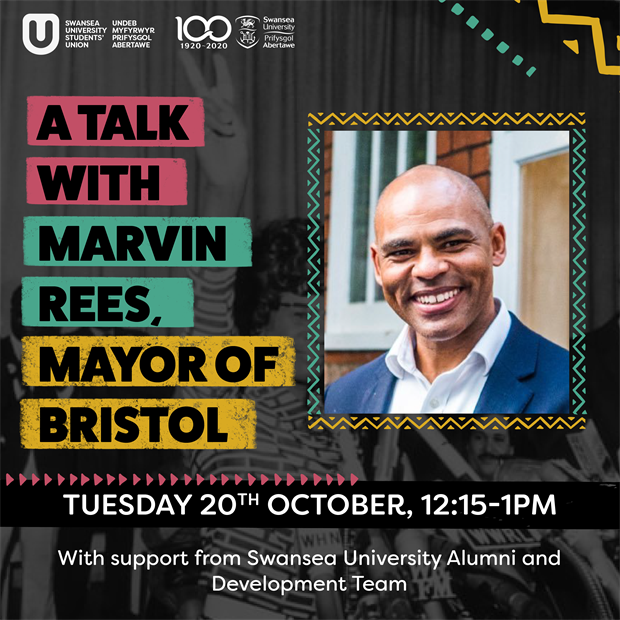 A Talk with Marvin Rees, Mayor of Bristol